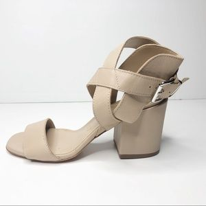 Summit White Mountain Cream Heeled Sandals 38 / 8